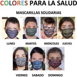 Colores por la salud - Niños